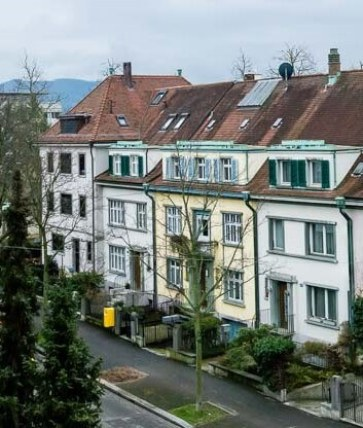 Architecture of Old Homes in Switzerland
