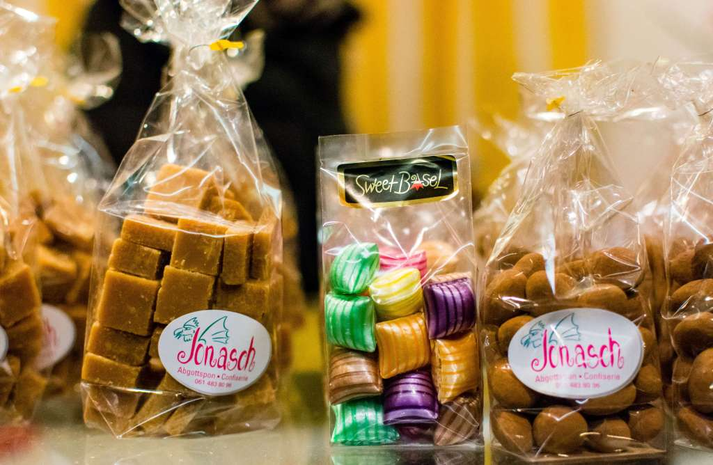 candy from the Basler Fasnacht