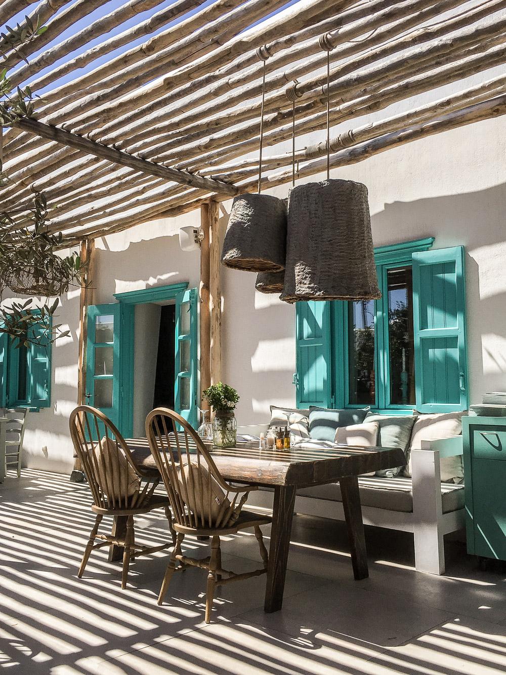 Almyra Restaurant in Mykonos