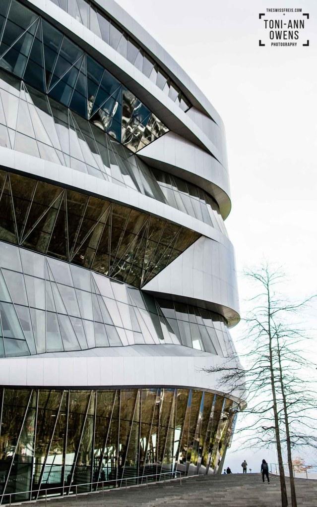 The Mercedes Benz Museum, Stuttgart, Germany