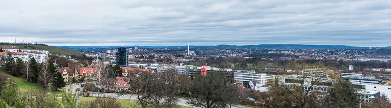 View of Stuttgart City