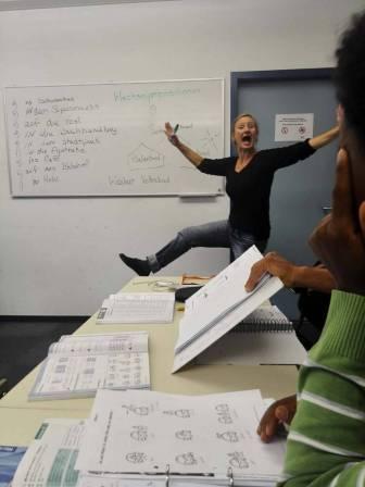 Female HDS Teacher