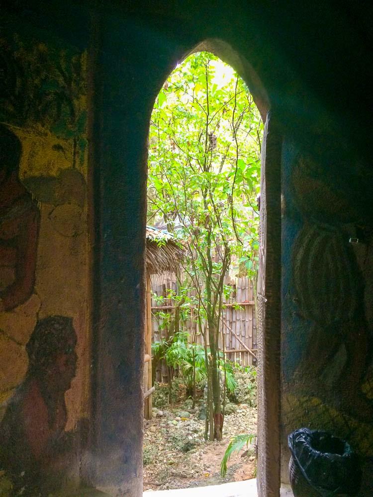 Inside the Akan Hut