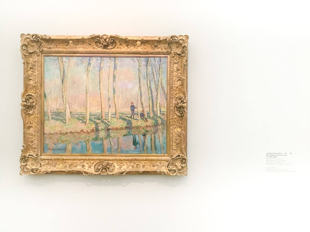 Jean-Pierre Hoschedé and Michel Monet on the Banks of the Epte 1887-1890