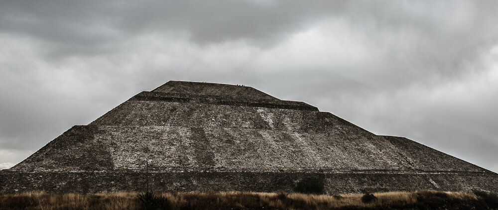 The Sun Temple at Teotihuacan