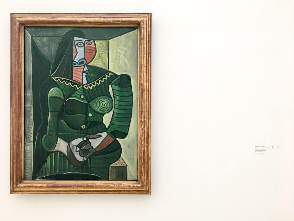 Pablo Picasso's, Woman in Green (Dora), 1944