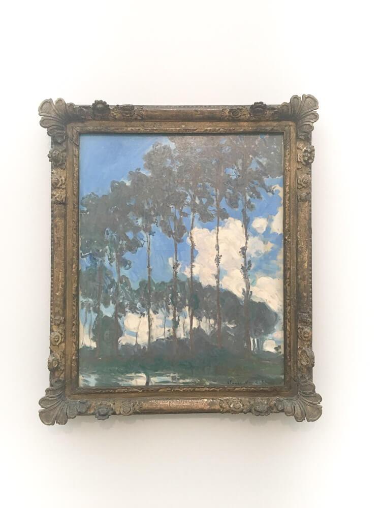 Poplar Trees 2, 1891