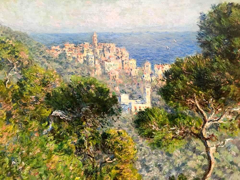 View of Bordighera, 1884