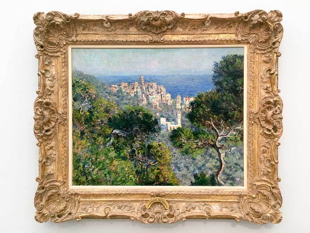 View of Bordighera , 1884