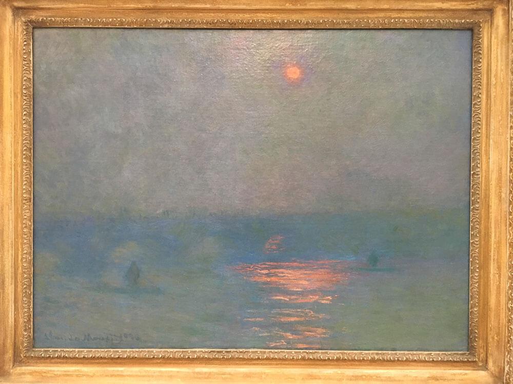 Waterloo Bridge, The Sun in a Fog, 1903