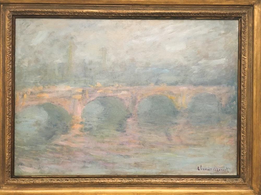 Waterloo Bridge at Sunset, 1904