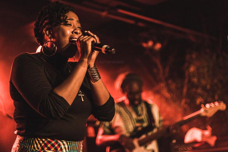 Jah'Mila at Afro-Pfingsten Festival's Reggae Night
