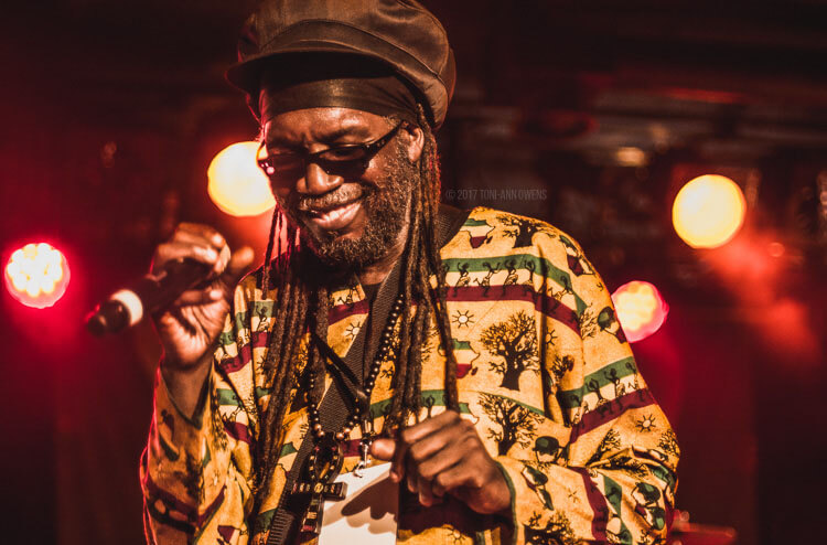 Macka B at Afro-Pfingsten Festival's Reggae Night