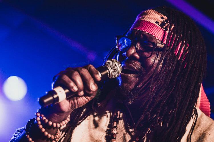 Mikey General at Afro-Pfingsten Festival's Reggae Night