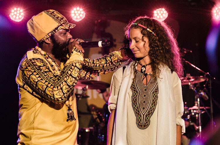 Warrior King and Yozayah at Afro-Pfingsten Festival's Reggae Night