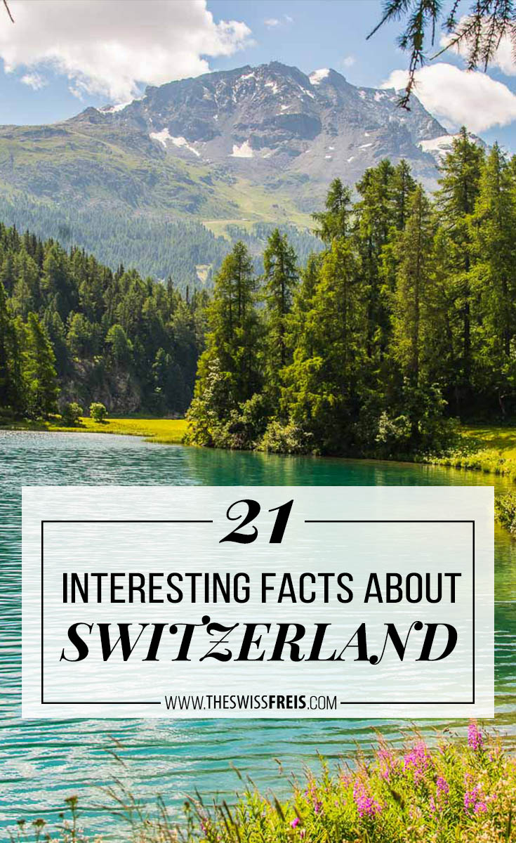 Discover 21 interesting facts About Europe's main home of the Alps, Switzerland via www.theswissfreis.com