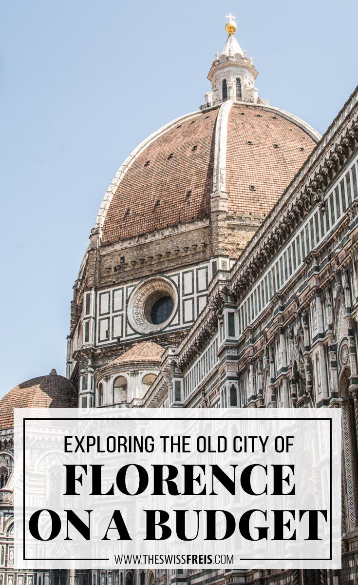 Planning a trip to Europe? Travel to Florence, Italy and explore this beautiful old city all while on a budget! #florence #italy #europe #budgettravel #traveldestinations #traveltips #traveladvice