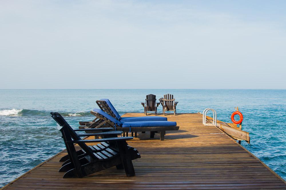 Pier at Jakes Resort in Jamaica