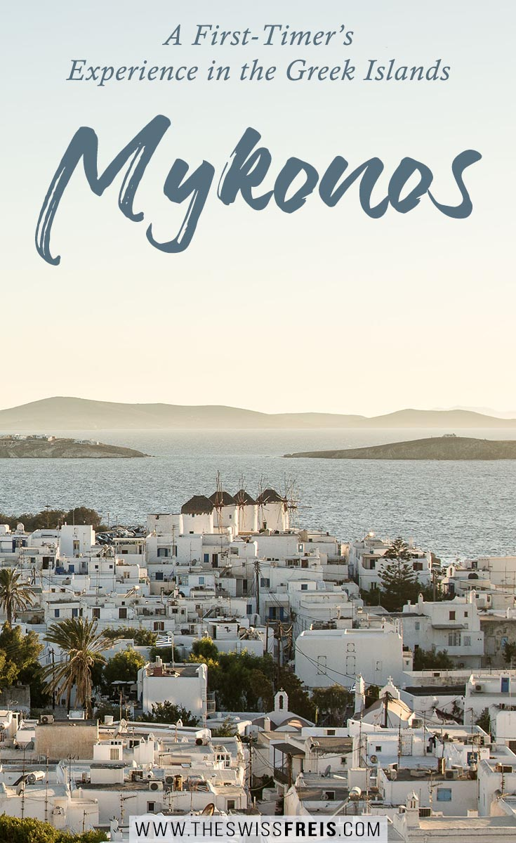 Mykonos is one of the Greek Islands I'm sure is on almost everyone's travel bucketlist. Visit this beautiful island paradise for your perfect beach vacation getaway! You're sure to love the beautiful blue ocean and the spectacular beaches it has to offer! Read the blogpost to learn more about what a trip to Mykonos will include! via www.theswissfreis.com