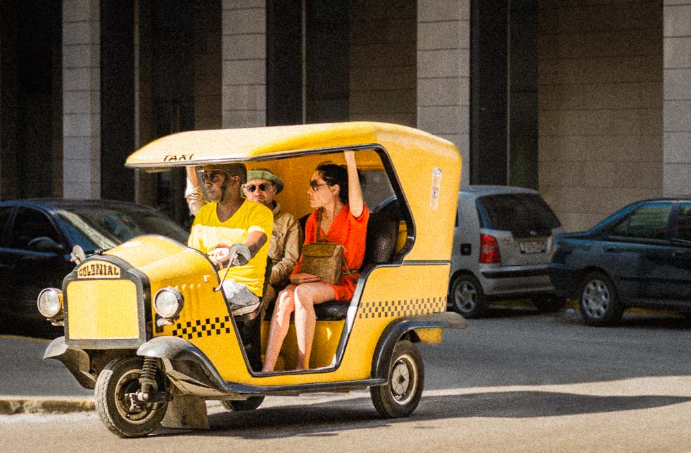 Coco Taxi in Havana Cuba