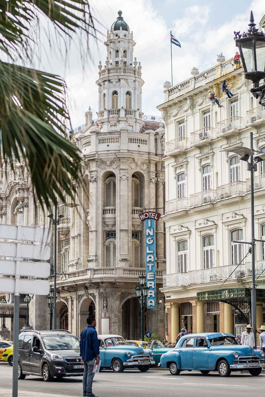 Hotel Inglaterra in Havana Cuba