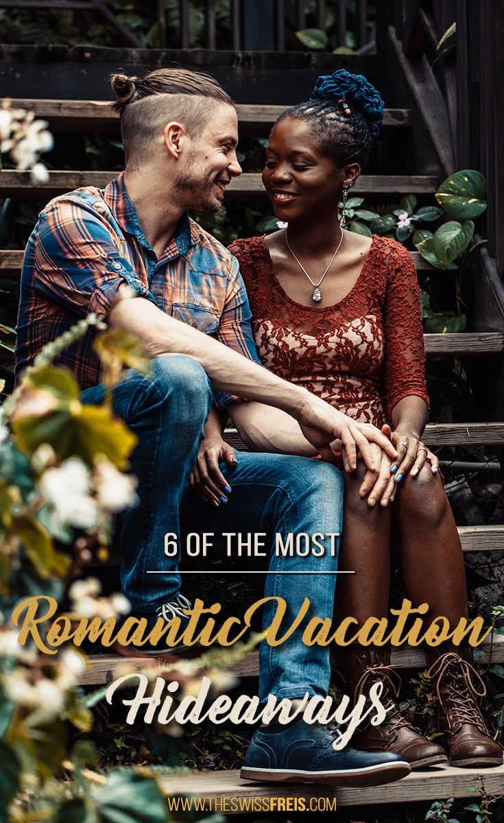 So, you and your sweetheart are planning a romantic vacation, but you absolutely hate large crowds of people. Where in the world do you go? Here are 6of the most romantic vacation hideaways you'll absolutely love! via www.theswissfreis.com