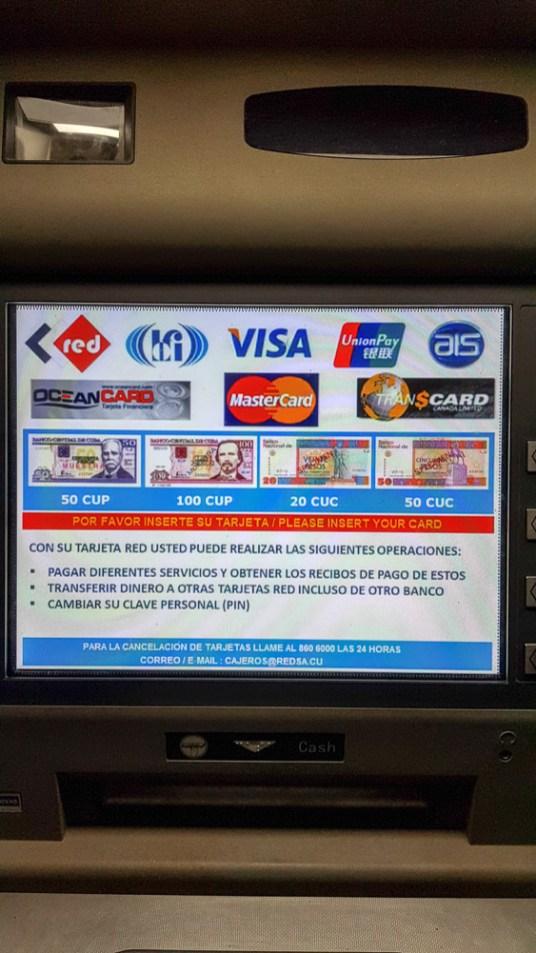 ATM in Cuba