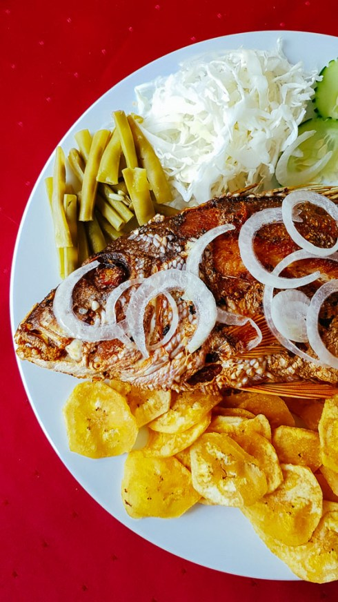 Fried Fish & Plantain Chips