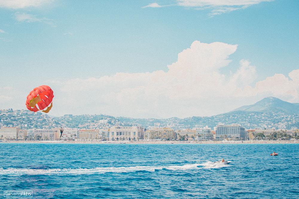 Parasailing in Nice France