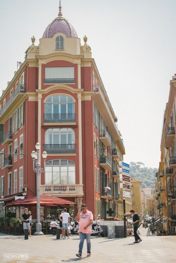 Vieille Ville in Nice France