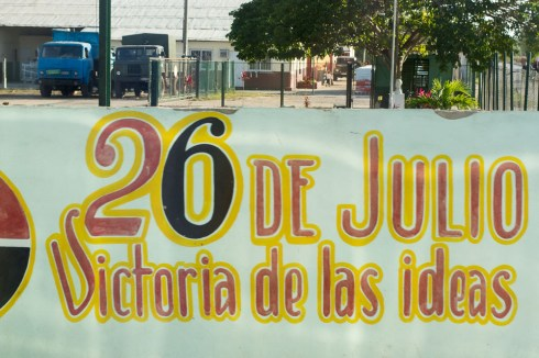26 de Julio street painting
