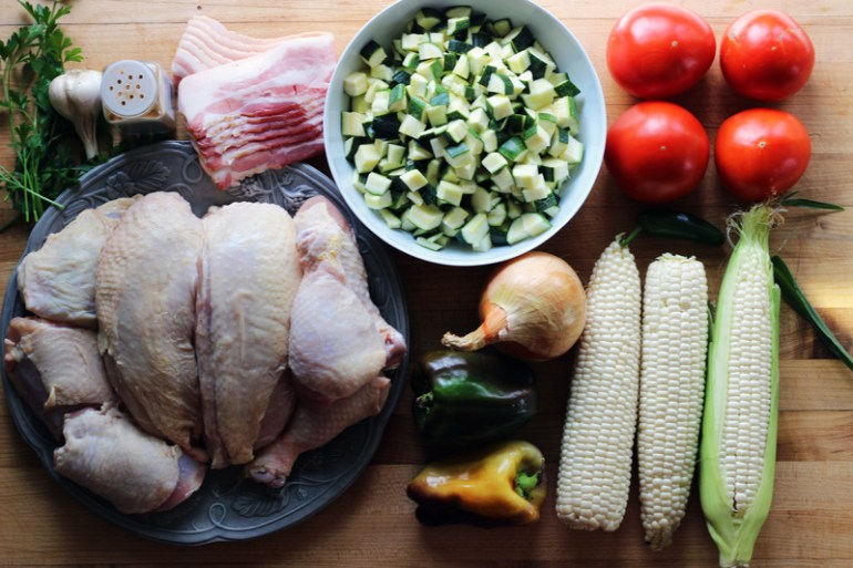 Calabacitas | Chicken with corn & squash | www.thetableofcontents.co