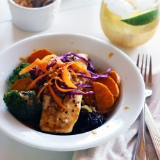 Salmon with Red Curry Sauce | www.thetableofcontents.co