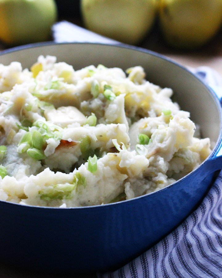 Colcannon - Traditional Irish Mashed Potatoes   www.thetableofcontents.co