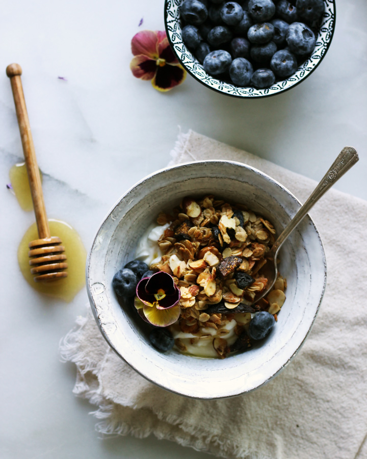 Almond, Coconut, Fig Granola | www.thetableofcontents.co