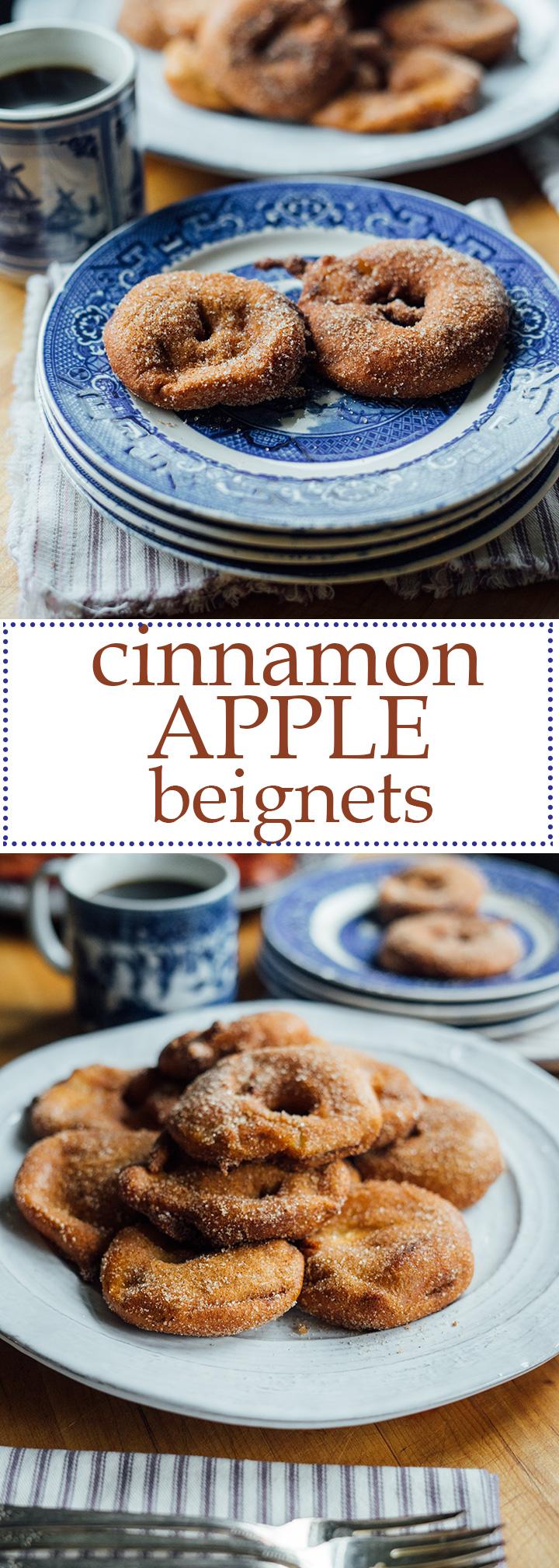 Cinnamon Apple Beignets   www.thetableofcontents.co