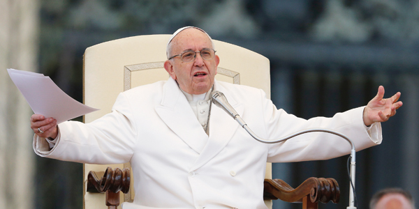 How Pope Francis gives witness to the 'new holiness'