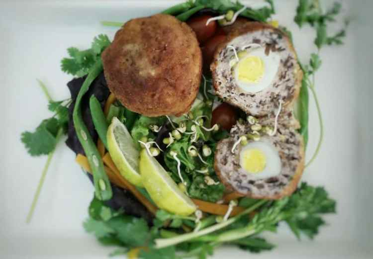 Scotch Eggs with a Tropical Twist