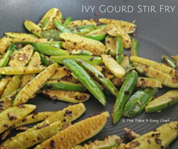 Ivy Gourd (Tindora/ Kovakka/ Tendli) Stir Fry