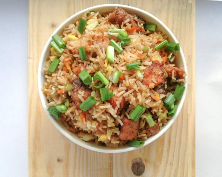 quick and easy dinner ideas, simple dinner ideas, 'The Take-It-Easy' Fish Fried Rice