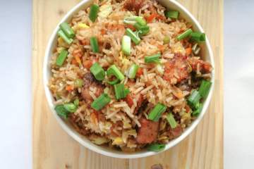 'The Take-It-Easy' Fish Fried Rice