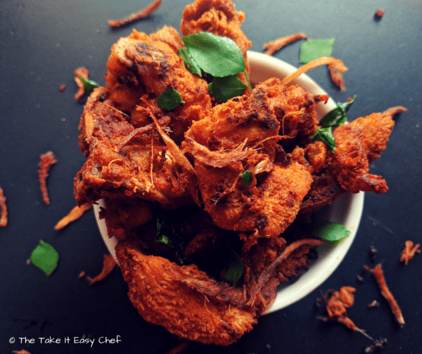 Coriander Fried Chicken