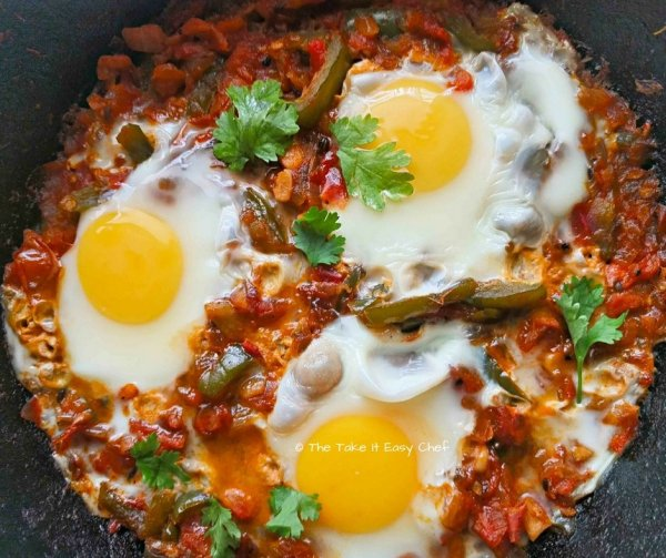 Shakshuka is ready