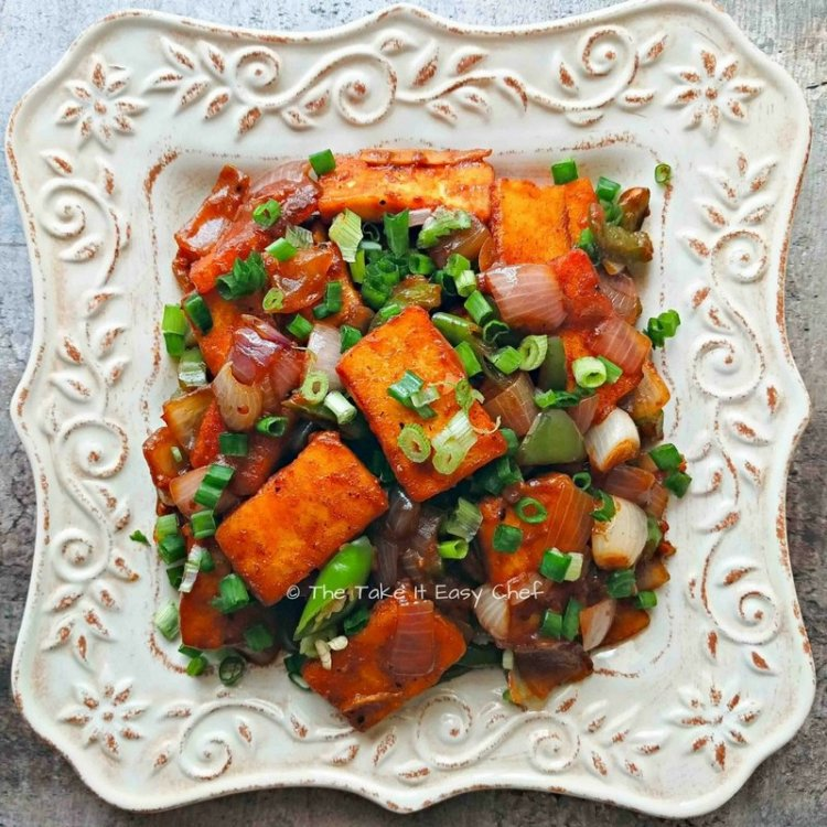 Chilli paneer indian cottage cheese the take it easy chef chilli paneer indian cottage cheese forumfinder Images