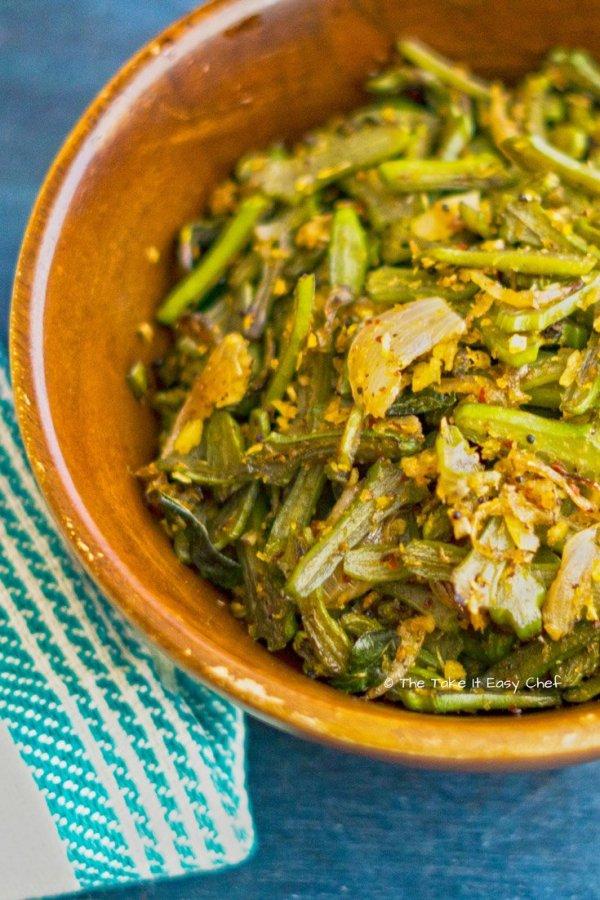 Beans Stir-Fry (Kerala Style)