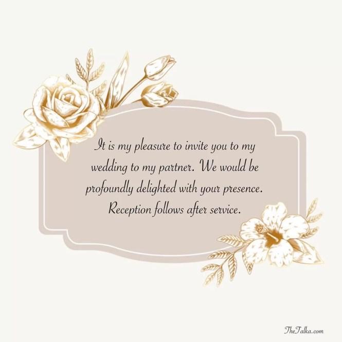 Wedding Invitation Messages Thetalka