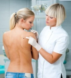 melanoma survey by dermatologist