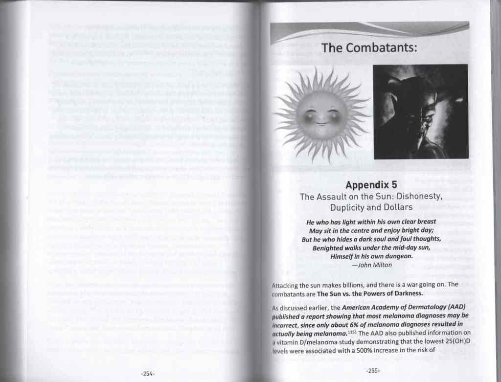 Embrace the Sun Appendix 5