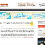 extreme tan and smoothies - tanning blog