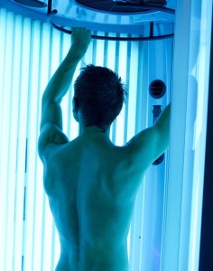 use of sunbeds can reduce risk of skin cancer
